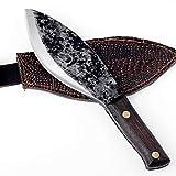 Cuchillo de carnicería de acero de alta dureza Cuchillo de hueso Hecho a mano Cuchillo de hueso Tang Full Tang Chef Acero inoxidable cuchillo chef de