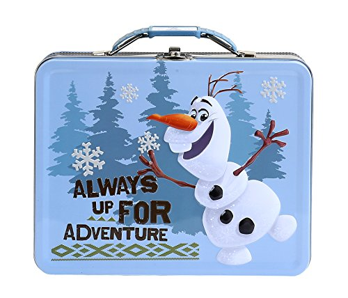 Disney Frozen Olaf Embossed Tin Carry All Lunch Box