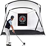 Gagalileo Golf Hitting Net Golf Practice Nets for Backyard Home Driving Range with Target and Carry Bag 9.3'(L) x5.3'(W) x6.5'(H)