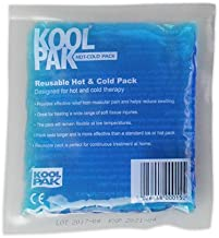 Koolpak Reusable Hot and Cold Pack, 13 x 14 cm