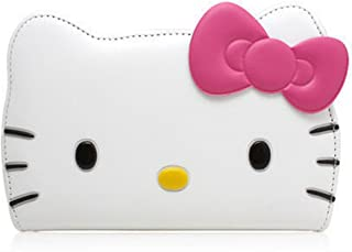 iPhone 6 , Case @ Hello Kitty 3D Wallet Apple iPhone 6 4.7 inch Hello Kitty 3D Wallet 24K Gold Electromagnetic Waves Shield Sticker iPhone 6 4.7 inch [White]