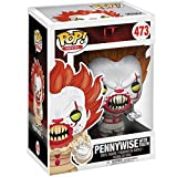 Funko Pop Movie - IT Pennywise with Teeth #473 Vinyl 3.75inch Figure Movie Derivatives for Boy...