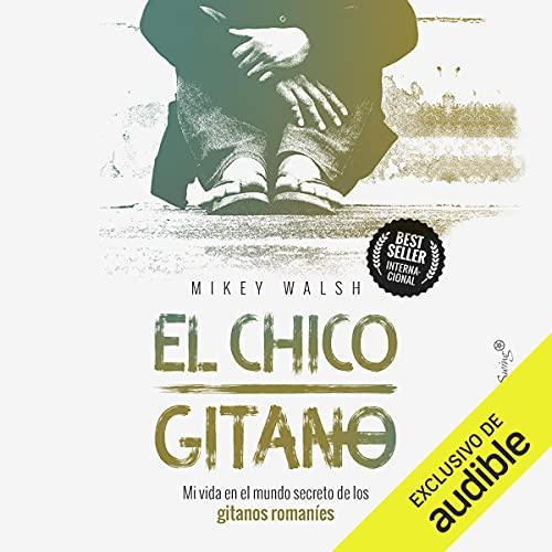 Diseño de la portada del título El Chico Gitano (Narración en Castellano)
