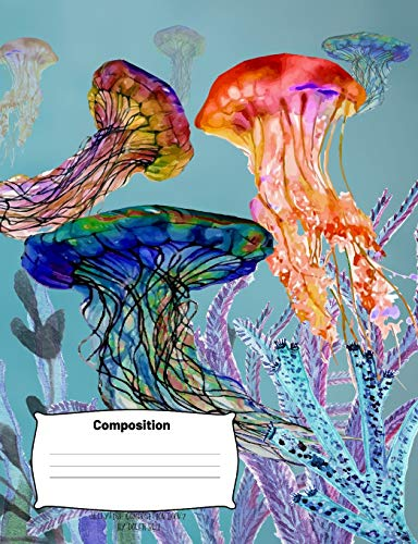 Jellyfish Composition Book2