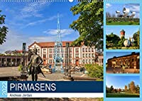 Pirmasens (Wandkalender 2022 DIN A2 quer): Rundgang durch Pirmasens (Monatskalender, 14 Seiten )