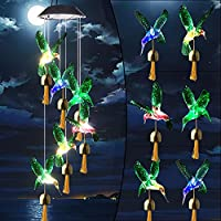 Color Changing Waterproof Solar LED lights Mobile Wind Chime