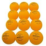 Newgy Robo-Balls - 1 Dozen Orange Ping-Pong Balls