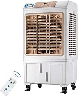 Disfrutar de la caída fresca de aire acondicionado ventilador Casa móvil ventilador industrial del agua de refrigeración a distancia (Color: Marrón) (color: morado), color: violeta ( Color : Yellow )