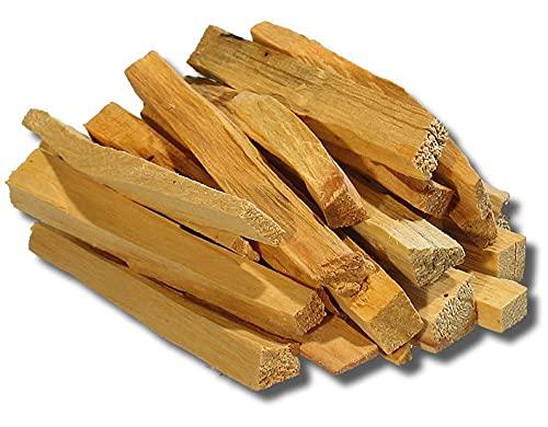 12 Palitos de Palo Santo Perú Madera Sagrada Incienso 100% Natural Aroma 120g Aprox 12 Varitas...