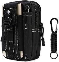 Flintronic® Tactische heuptasjes, militair, compacte heuptasje, multifunctionele buiktaszak, tas voor camping, wandelen...