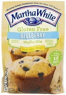 Martha White Gluten Free Blueberry Muffin Mix 7 Oz. - (6 boxes)