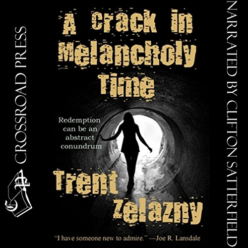 A Crack in Melancholy Time audiobook cover art