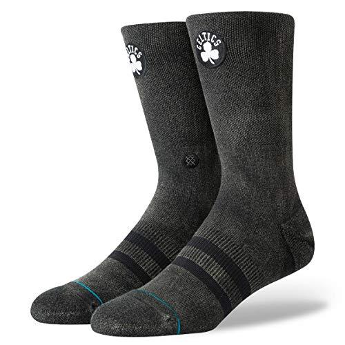 Stance Celtics Blacktop Socks - Black-Medium