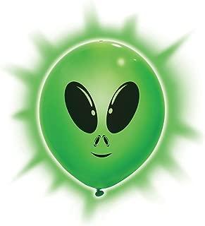 Unique Alien Light Up Party Balloons 9