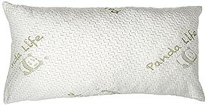 Panda Life Shredded Memory Foam Pillow-Queen, 2 Pack