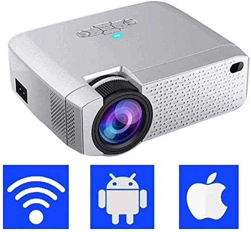 Wifi Projector Led Lamp Life Video Projector Ondersteuning Hd 1080p Ios Smartphone Pc Laptop Usb Tv Stick voor Movie Games en Home Theater