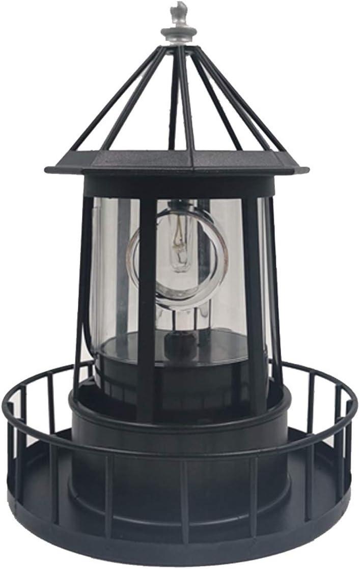 Binchil 激安格安割引情報満載 Lighthouse 往復送料無料 Solar LED Light Beam Garden Outdoor Rotating