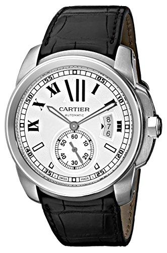 Cartier Hombre W7100037 De Cartier Reloj con Correa de Cuero