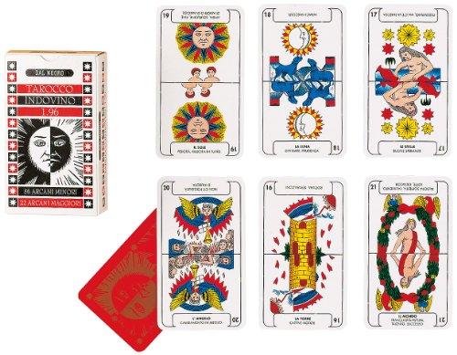 Preisvergleich Produktbild Dal Negro 40005 - Indovino 1:96 - Tarot Kartenspiel