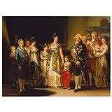 JUNIWORDS Poster, Francisco José de Goya, Die Familie
