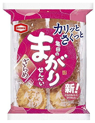 亀田製菓亀田のまがりせんべいざらめ12枚×12袋