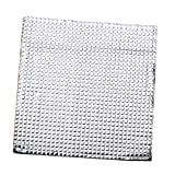 Zamtac Heated Bed Hotbed Thermal Pad Insulation Cotton Foil Self-Adhesive 400x400mm - (Color: White)