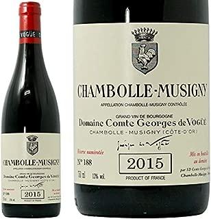 2015 シャンボール ミュジニー コント ジョルジュ ド ヴォギュエ 赤ワイン 辛口 750ml Comte Georges de Vogue Chambolle Musigny