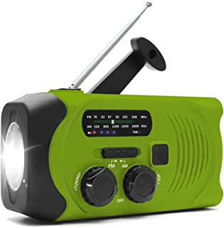 【2019進化版】非常用 ラジオ 防災 ラジオライト 手回し充電ラジオ 多機能 ソーラーラジオ 防災グッズ USB充電 懐中電灯 防災ラジオSOSアラート AM/FMラジオ 停電対策
