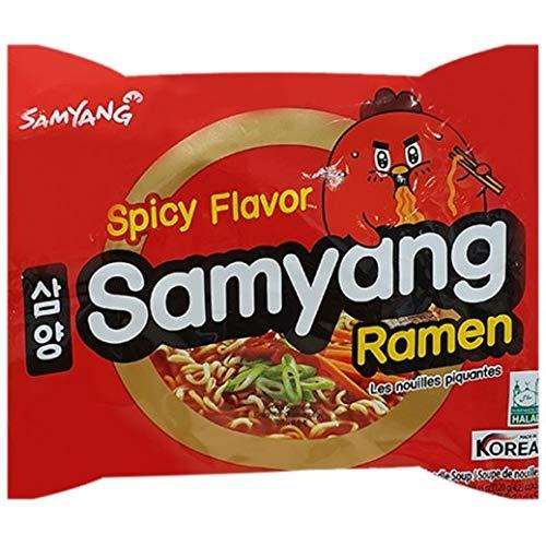 Samyang Ramen sabor picante (Halal) 120 g x 10 paquetes por Hello Oriental