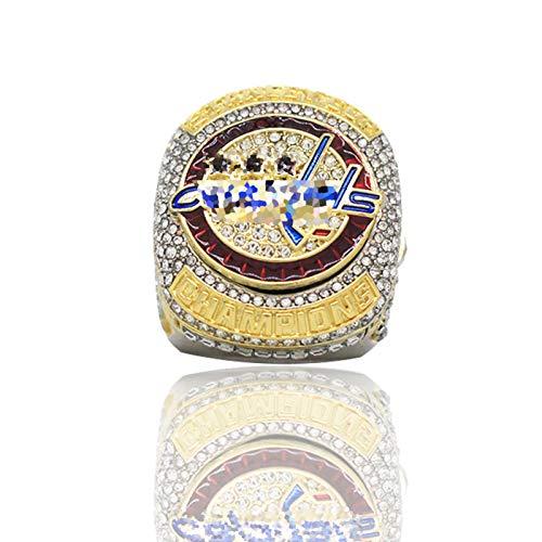 XIKONG Champion Ring, con Frontera de Diamantes de imitación de la Liga...