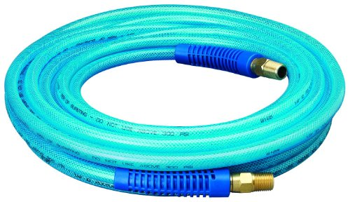 Amflo 12-25E Blue 300 PSI Polyurethane Air Hose 1/4