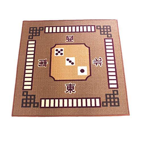 LGRQWER Portable-Mahjong Tischdecke Quadrat Teppich Poker Table Cover, Kartenspiele, Dominos Mahjong Tischdecke, Für Indoor Entertainment 30,7