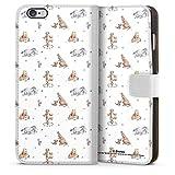 DeinDesign Étui Compatible avec Apple iPhone 6 Plus Étui Folio Étui magnétique Winnie l'ourson...