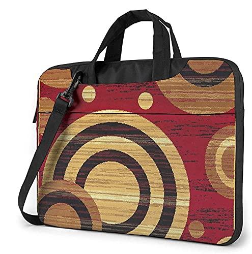 Laptop Shoulder Bag,Galaxy Geometric Shockproof Laptop Sleeve Cover Business Messenger Bag Briefcase Handbag Case 13/14/15.6 inch
