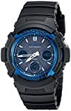 Casio AWG-M100A-1ACR G-Shock AWGM100A-1A Men's Tough Solar Black Resin Sport Watch