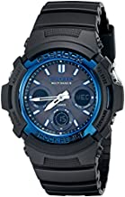 Casio AWG-M100A-1ACR G-Shock AWGM100A-1A Men's Tough Solar Black Resin Sport Watch