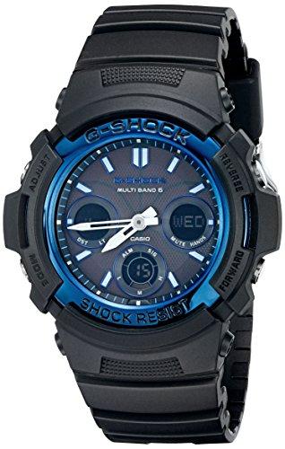 Relógio Casio AWGM100A-1A, Preto, Masculino