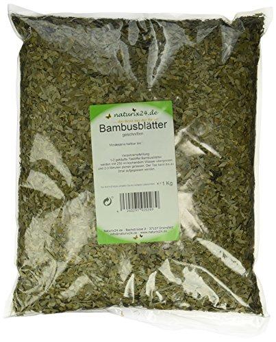 Naturix24 Bambusblätter geschnitten, 1er Pack (1 x 1 kg)