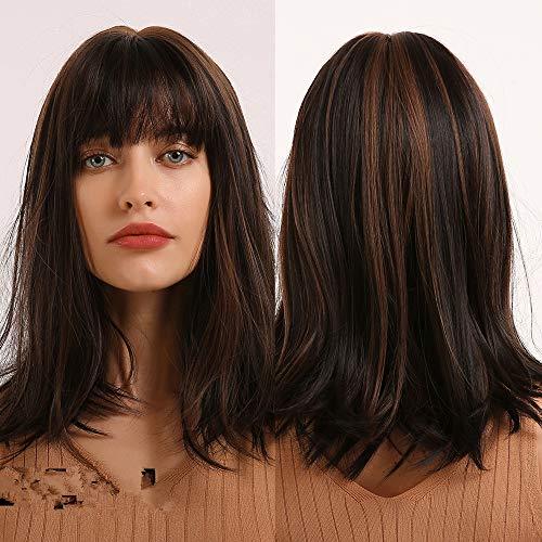 haz tu compra pelucas mujer pelo natural de colores naturales on line