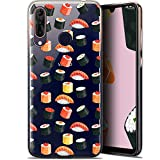 Ultra-Slim Case for 6.3-Inch Wiko View 3 Pro, Foodie Sushi