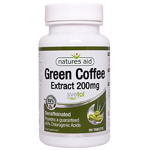 Natures Aid Green Coffee Extract 200 mg (Svetol) 60 Tabletten