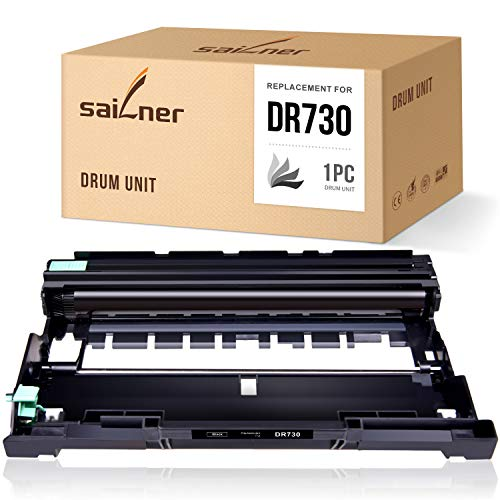 Price comparison product image SAILNER Compatible Drum Unit Replacement for Brother DR730 DR 730 use with MFC-L2710DW HL-L2350DW HL-L2395DW DCP-L2550DW HL-2370DW MFC-L2750DW HL-L2390DW 1 Pack Drum only