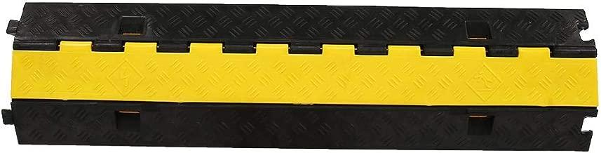 3 x robuste Kabelrampen-Schutzabdeckung strapazierf/ähiger /Überschlauchschutz und Kabelschiene sicher in Bereichen mit hohem Gehweg Kabel-Concealer f/ür den Innen- und Au/ßenbereich