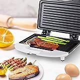 Sandwichera eléctrica, para desayuno, sándwiches, panini, máquina de desayuno, barbacoa