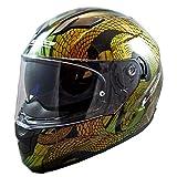 LS2 Helmets Full Face Stream Street Helmet (Sankebite Chameleon - X-Large)