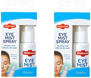 2 x Eye Mist Eyelid Spray for Refreshing Dry Tired Irritated