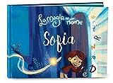 Libro bambini personalizzato La magia del mio nome di My Magic Story Regalo per nascita battesimo 1° giorno di scuola idea regalo per bambine bambini che iniziano a leggere, bambini 0-8 anni