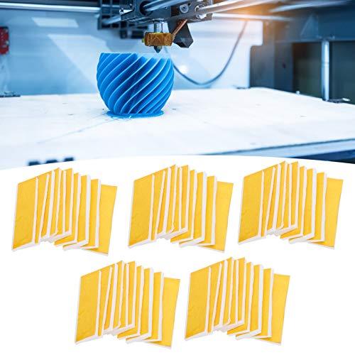 Impresora 3D Bloque calefactor Algodón, 5 juegos Impresora 3D Bloque calefactor Aislamiento térmico Boquilla de algodón Aislamiento térmico, Aislamiento térmico Algodón y cinta resistente a altas temp