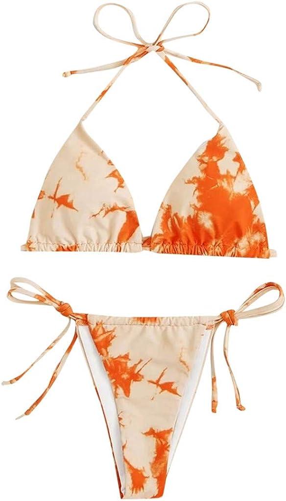 Mlide Womens Sexy trend rank Bandage Thong Free Shipping New Set V-Neck Swim Bikini Brazilian