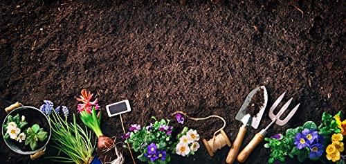 Samenshop24® 50L Blumenerde in echter Gärtnerqualität mit hohem Weißtorf-Anteil, Ton + Dünger, Profi-Erde
